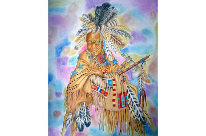 Pawnee Medicine Man