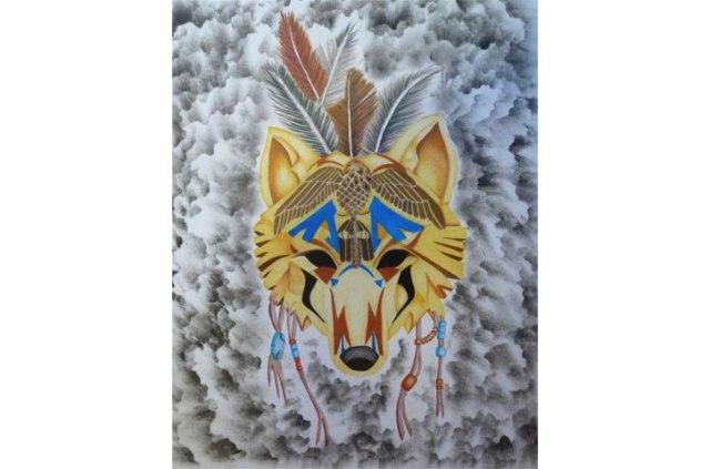 Wolf=Man Mask